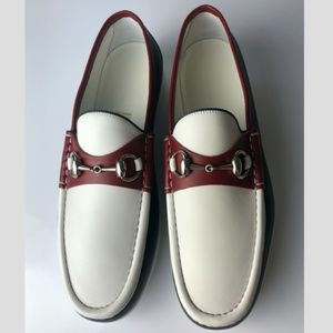 Gucci Horsebit Mirosoft Leather MEN Loafers G08